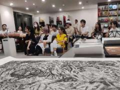 TNTT联动版画洪诗雅在深举办《艺术家的灵魂对话》分享会