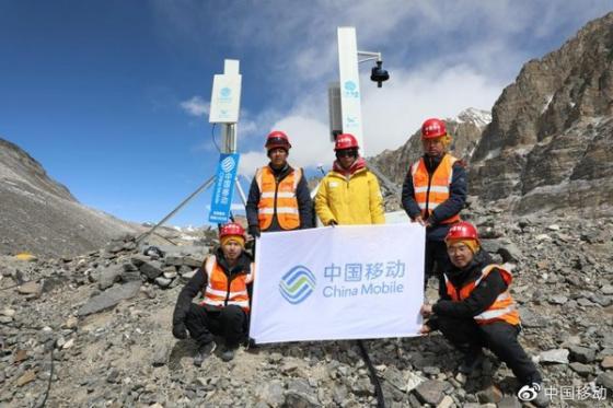 中国移动5G信号将覆盖珠峰峰顶,共5个5G基站