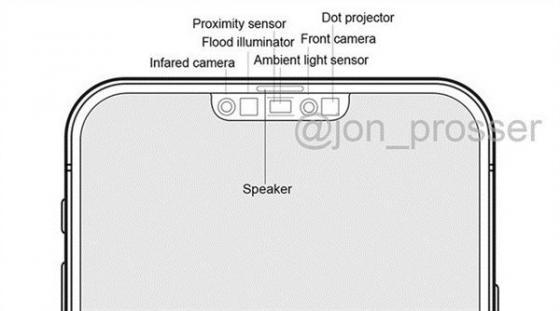 iPhone 12 Pro面容ID图曝光:刘海大幅缩小,屏占比再上一个档次
