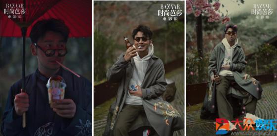 雷佳音诠释眼镜造型雅痞风尚 玩转型男魅力