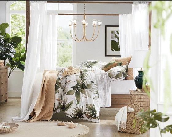 Harbor House新床品种草,一间卧室的初夏轻改造