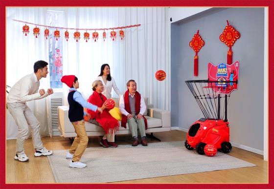 """2021春节礼品榜单,""""我长高了""""儿童智能篮球机备受热捧"""