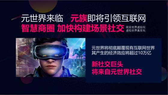 "5G网络新风口互联网电商抢够网布局""元世界"""